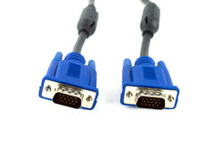 Vga cable Royalty Free Stock Image