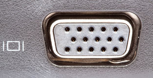 VGA connector Stock Photo
