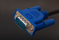 VGA connector Stock Photos