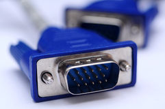 Vga connector Stock Image