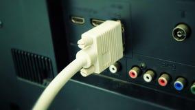 VGA kabel royaltyfri bild