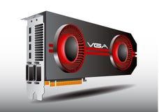 VGA-Karten-Reihe 3 Stockfotos