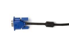 VGA tech pc input cable Royalty Free Stock Photo