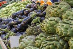 Vgetables freschi da vendere! Immagini Stock Libere da Diritti