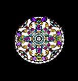 Väggar gjorde ââofexponeringsglas Arkivbilder