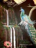 väggmålning Royaltyfria Foton