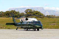 VH-60罗本岛,南非 库存照片