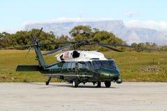VH-60 Robben wyspa, Południowa Afryka Zdjęcie Stock