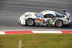 Véhicule 7, SuperGT 2010 de M7 Mazda Images libres de droits