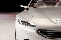 Véhicule de concept de Peugeot SR1 Images libres de droits