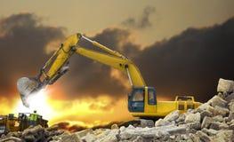 Véhicule de construction Images libres de droits