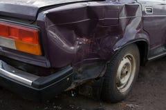 Véhicule de crash Photographie stock libre de droits