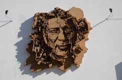 Vhils Royalty Free Stock Images