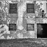 Vhils Street Art Royalty Free Stock Photography