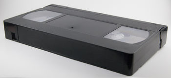 VHS录影带 免版税图库摄影