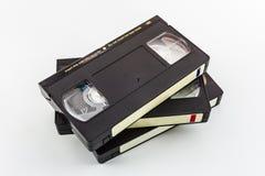 VHS录象带。 库存照片