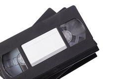 VHS видео- кассеты изолировано Стоковое фото RF