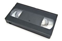 Vhs cassette Stock Foto's