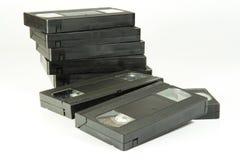 Vhs cassette. On white background stock images
