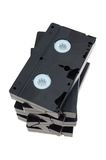VHS Cassette Royalty Free Stock Photos