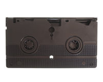 VHS cassette isolated Royalty Free Stock Photo