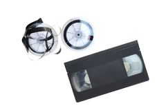 VHS Cassette Tape Royalty Free Stock Images