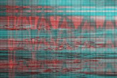 VHS glitch background artifact noise,  technology. VHS glitch background artifact noise abstract texture,  technology royalty free illustration
