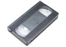 VHS-Kassette stockbild