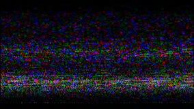 VHS nehmen Schirm auf Video stock video footage
