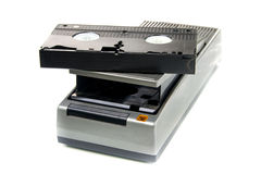 VHS Rewinder and vhs video tape Stock Photography