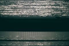 VHS Static Screen Background. A VHS static screen and TV static background of a VHS tape recording royalty free stock photography