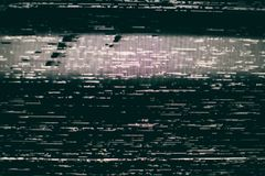 VHS Static Screen Background royalty free stock photos