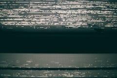 VHS statisk skärmbakgrund Royaltyfri Fotografi