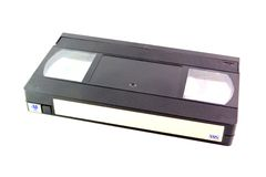 VHS tape Royalty Free Stock Photo