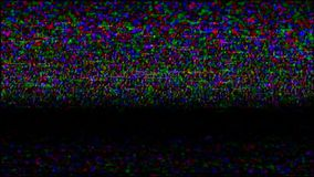 Vhs Tape Screen. Video Recording. stock video footage