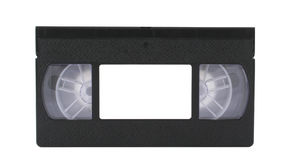 VHS Tape With Copyspace Royalty Free Stock Image