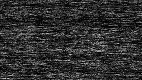 VHS TV Noise Footage, black and white, real analog vintage signal with bad interference, static noise background. Overlay ready stock footage