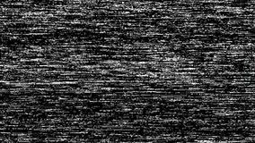 VHS TV Noise Footage, black and white, real analog vintage signal with bad interference, static noise background. Overlay ready stock video