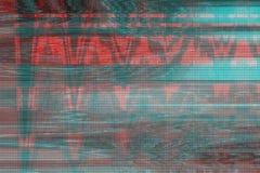 VHS usterki tła artefakta hałas, szkoda ilustracja wektor