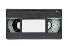 VHS Video casette isolated on white background Stock Photo