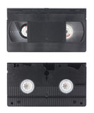 VHS Video Cassette. Isolated in white Stock Images