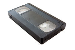 VHS video cassette Royalty Free Stock Images