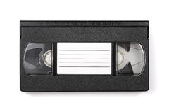 VHS video cassette tape with copyspace Stock Photo