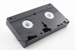 VHS Video Tape stock photo