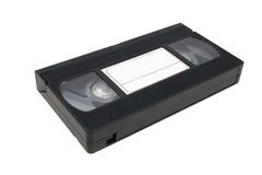 VHS video tape cassette videocassette Royalty Free Stock Photography