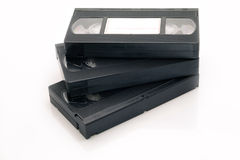 Vhs Video Tape Cassette Videocassette Stock Photo