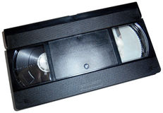 VHS Video tape, isolated Stock Photos