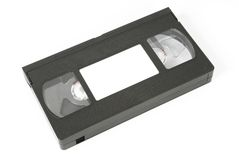 VHS video tape Stock Photos
