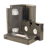 VHS video tapes Stock Images
