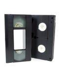 VHS video velho das cassetes de banda magnética Foto de Stock